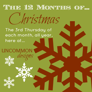 12 months of christmas Uncommon Designs