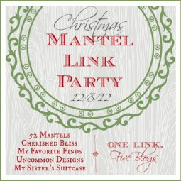 Christmas Mantel Link Party