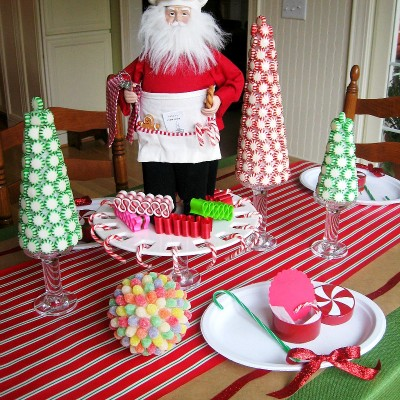 Santa's Sweetshop Table with Dollar General