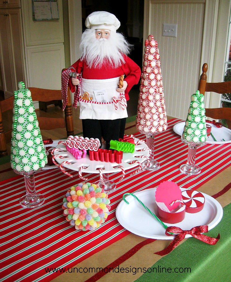 Santa's Sweetshop table