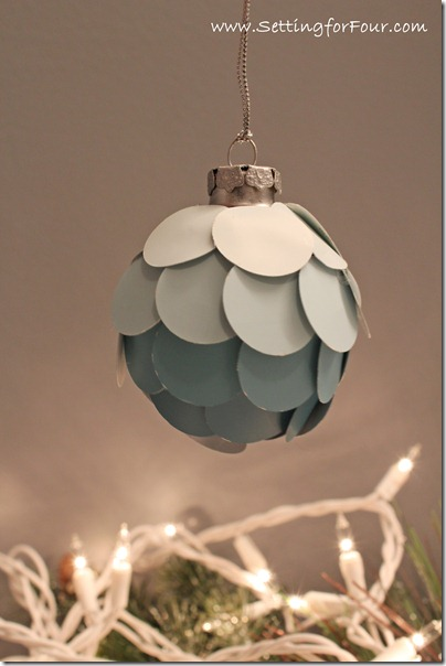ombre ornament