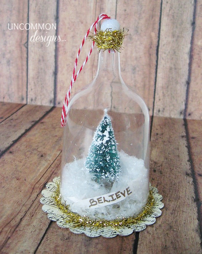 bell Jar Christmas ornament