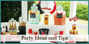 Click for More great Party Ideas and Tips!