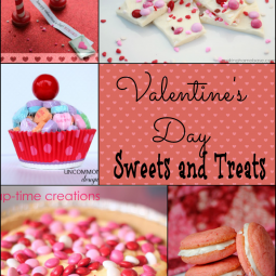 Valentine Treats collage