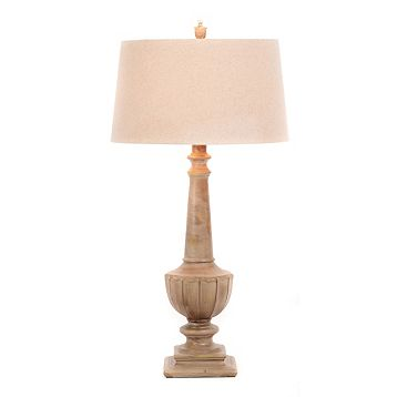 Kirkland's Gray Wash table Lamp