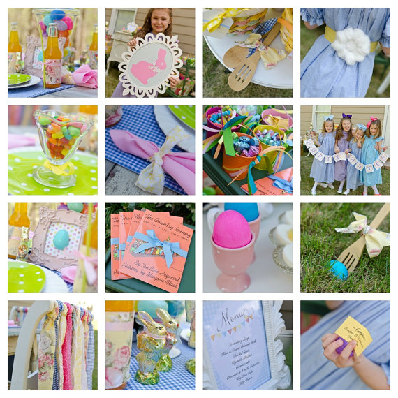 easter party kit double the fun parties