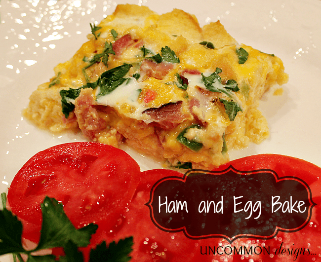 ham and egg bake