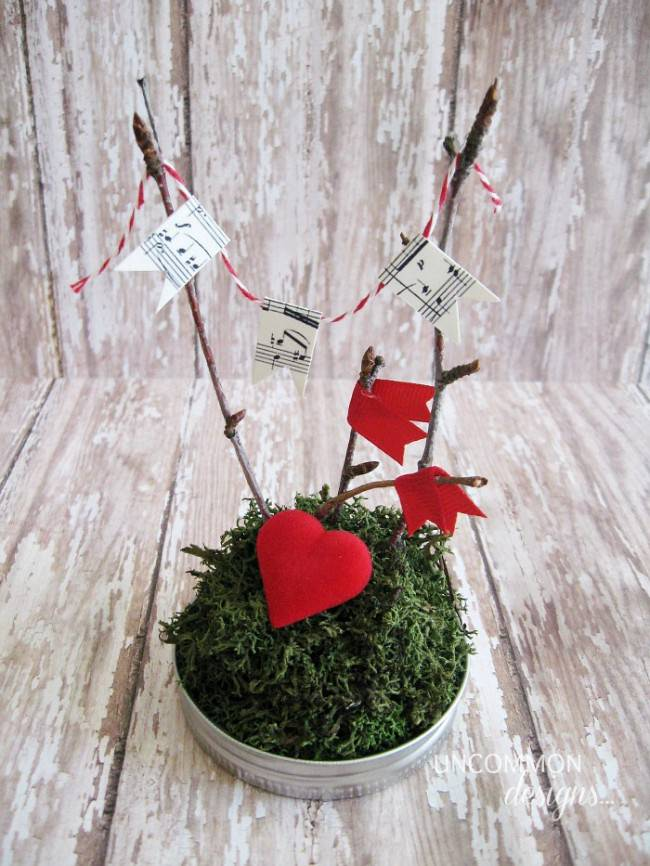 valentine mason jar craft
