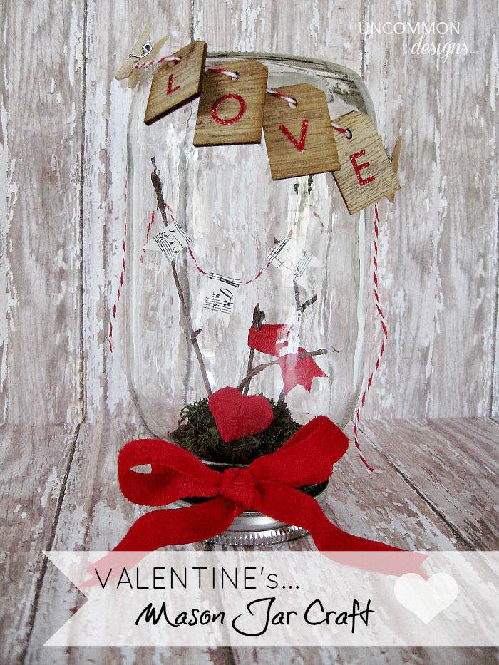 Mason Jar Craft Ideas for Valentine's