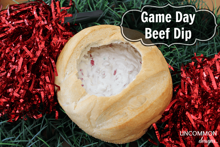 Game Day Beef Dip… the Perfect Football Food