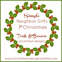 simple neighbor gifts for christmas