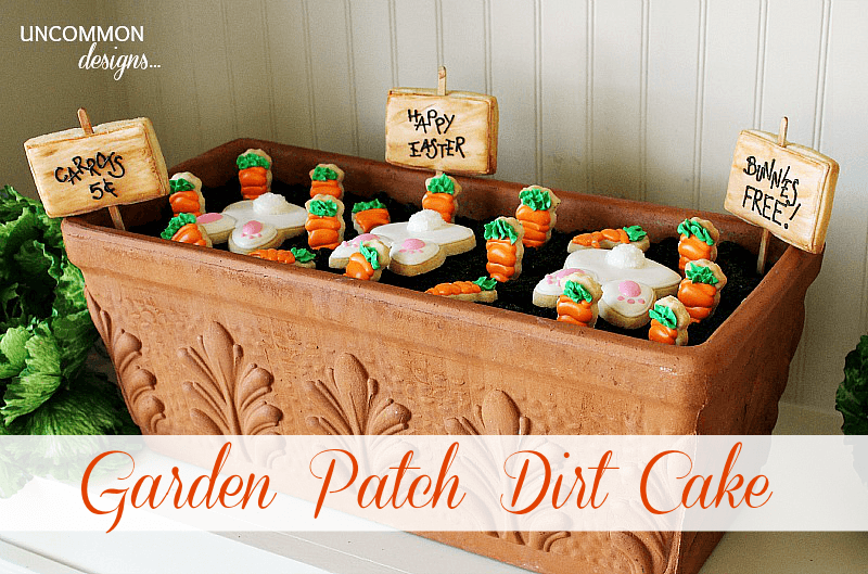 Easter Garden Patch Dirt Cake Recipe