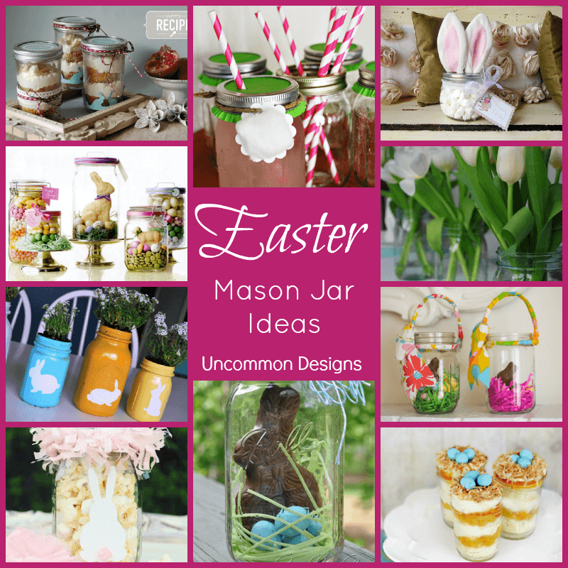 10 easter mason jar ideas uncommon designs 10 easter mason jar ideas negle Image collections