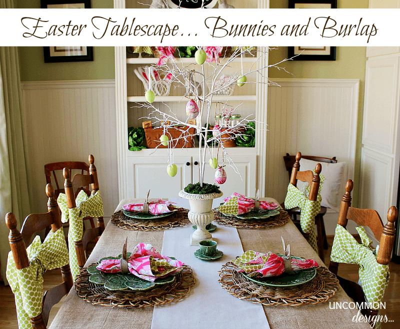 Easter-Tablescape-Uncommon-Burlap-Bunnies