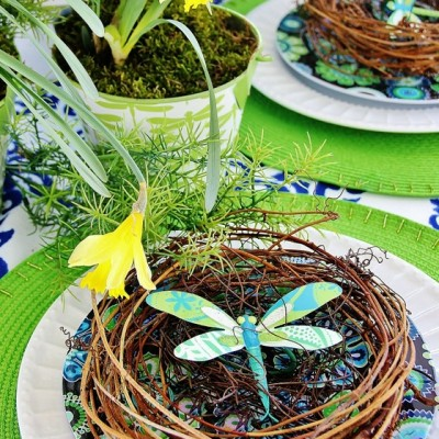 Easter Tablescape… Thistlewood Farms