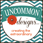Uncommon Button Teal Chevron