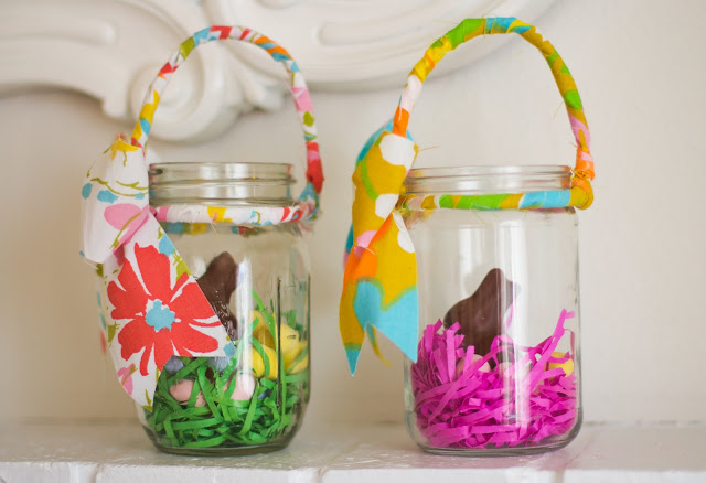 10 easter mason jar ideas uncommon designs mason jar easter basket negle Gallery
