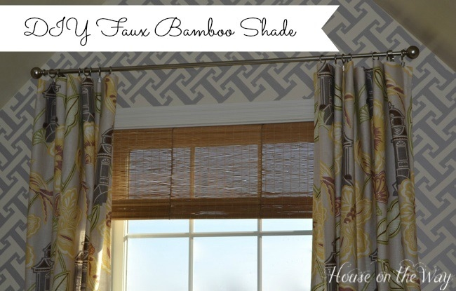 bamboo shade from placemat
