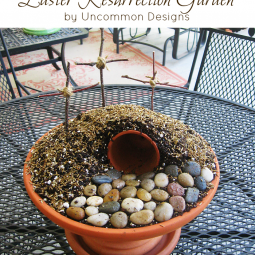 Easter Resurrection Garden…{ A Tutorial }