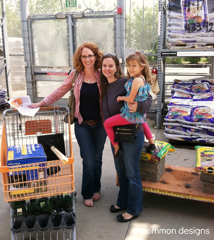 Household Stores: Outdoor Project Shopping At The Home Depot #DigIn