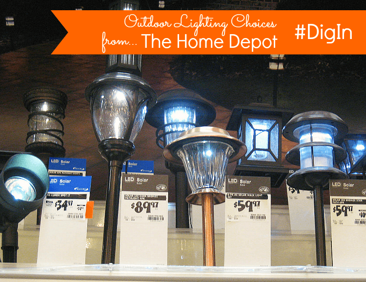 Outdoor-Lighting-Choices-Home-Depot-#digin