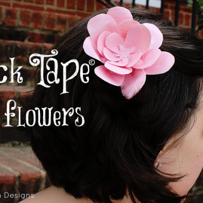 "Duck Tape® Flowers… Perfect to be ""Stuck at Prom"""