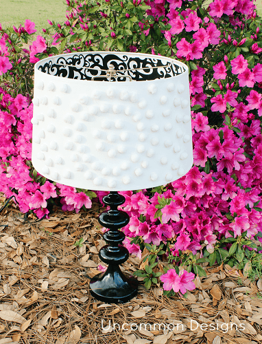 embellished lampshade