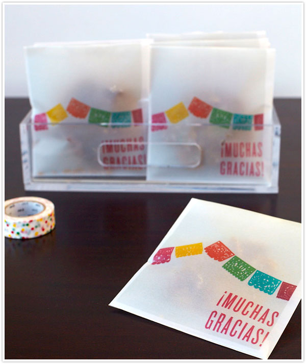 fiesta treat bags