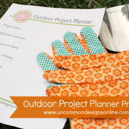 Outdoor Project Planning with The Home Depot #DigIn