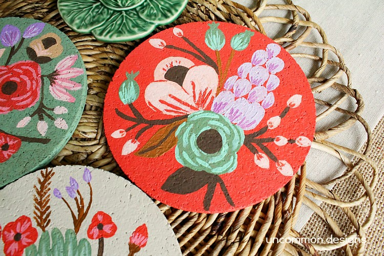 Painted-Cork-Coasters-DIY-2
