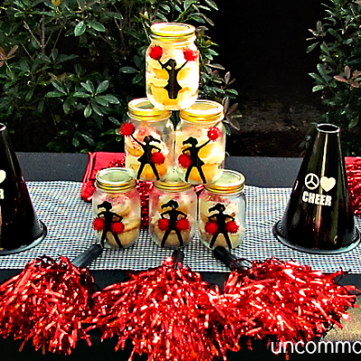 Cheer Party… Peace, Love, Cheer!