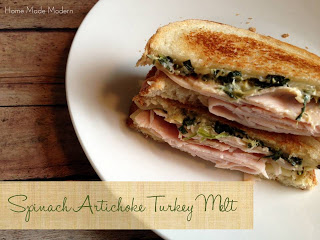 turkey artichoke sandwich