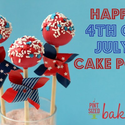 Create Adorable 4th of July Cake Pops