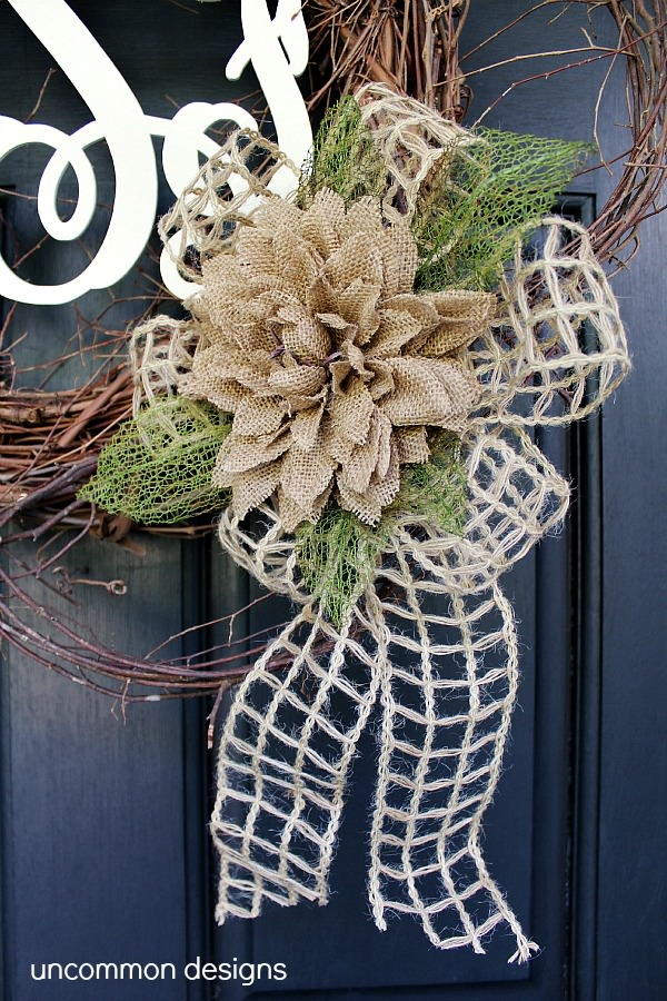 Burlap-flower-twine-ribbon