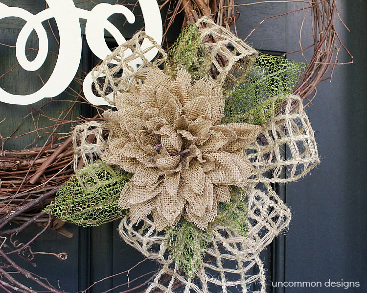 Monogram-wreath-burlap-flower