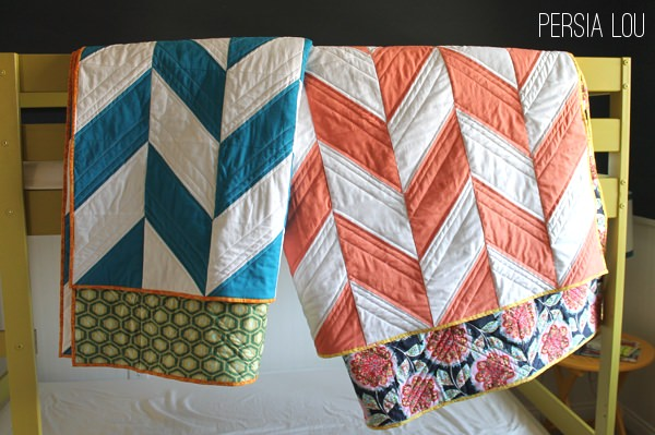 chevron quilts