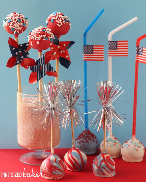 july 4th cake pop ideas