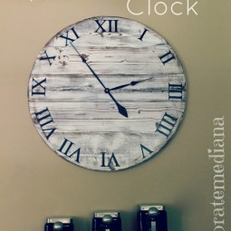 Pottery Barn Knock-Off Clock