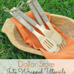 Dollar-Store-Jute-Wraped Serving-Utensils