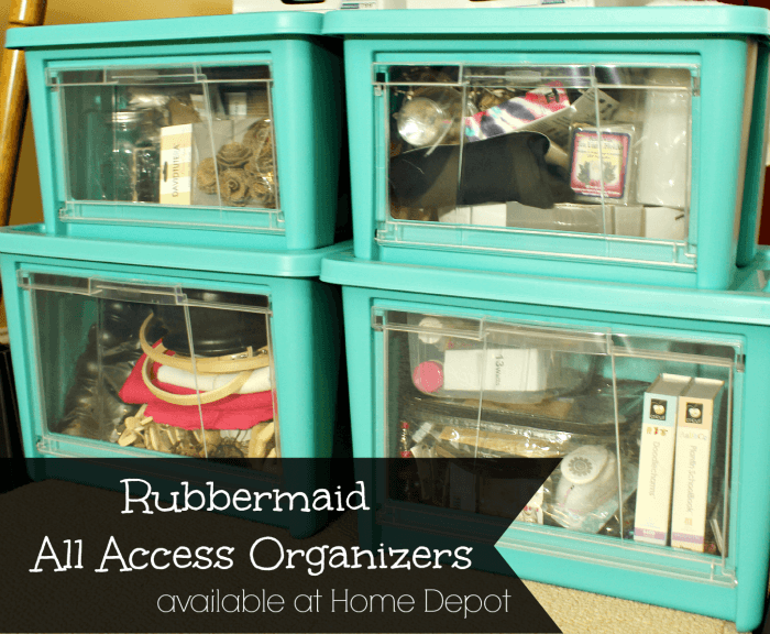 rubbermaid all access