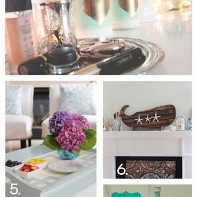 Monday Funday Link Party {32}  and 10 Upcycled Projects
