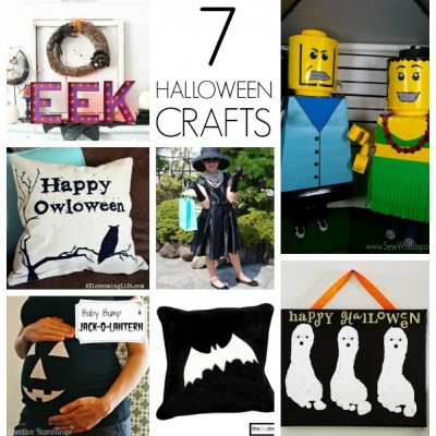 Halloween Projects and Monday Funday Link Party {37}