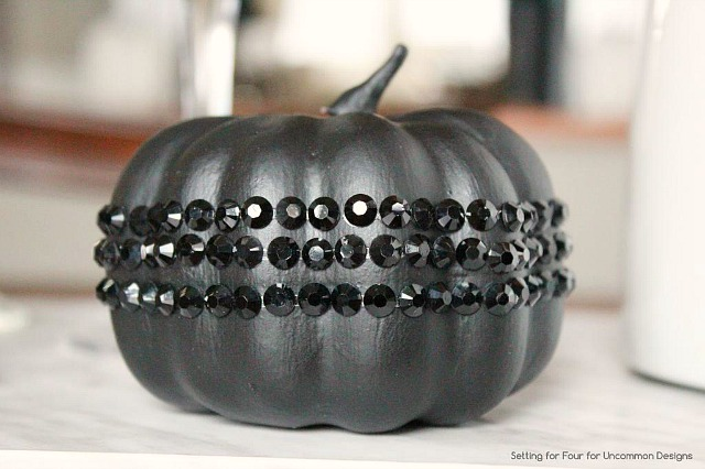 DIY_Glam_jeweled_styrofoam_pumpkin