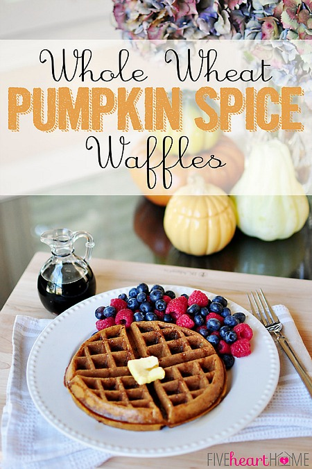Fall_desserts_Whole-Wheat-Pumpkin-Spice-Waffles-Dairy-Free-by-Five-Heart-Home