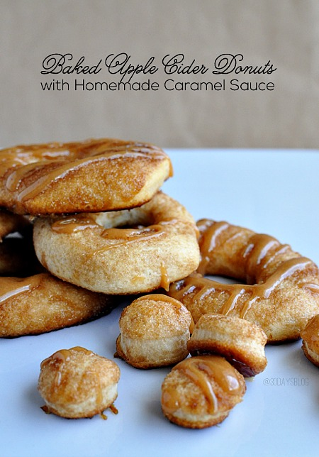 Fall_desserts_baked_apple_cider_donuts_with_caramel_sauce_thirtyhandmadedays