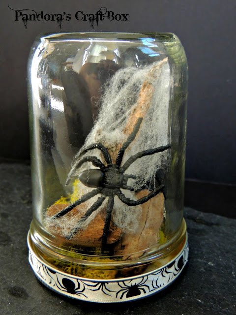 Halloween Spider Mason Jar