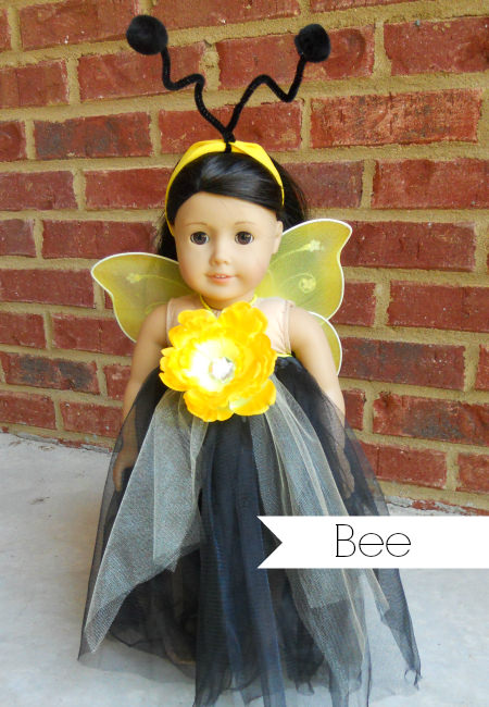 american girl bee costume