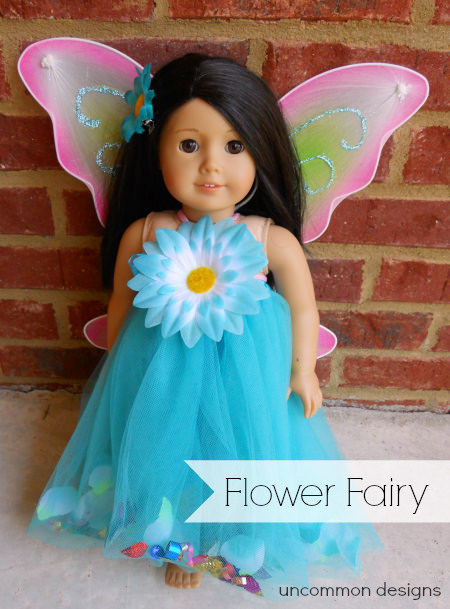 american girl fairy costume