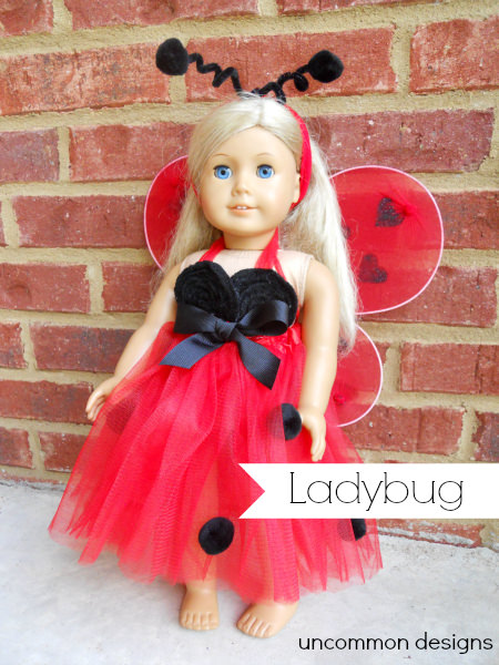 american girl ladybug costume