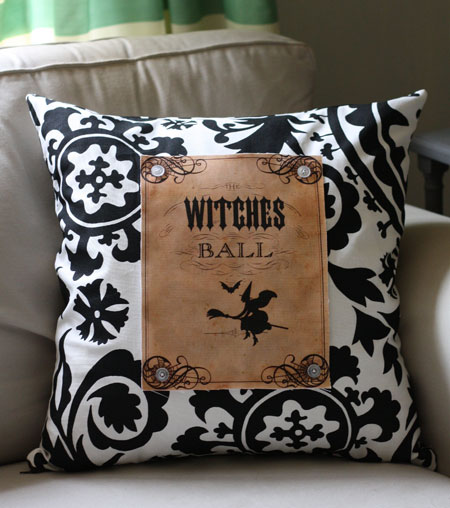 hallloween pillow